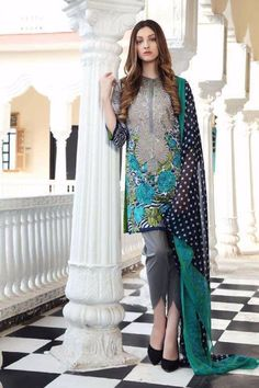CHARIZMA COMBINATION LAWN COLLECTION 2017 | PK Vogue
