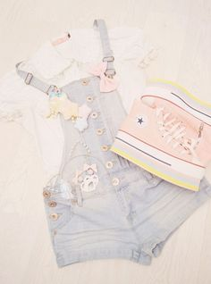 Trendy moda japonesa juvenil kawaii Source by clothing Estilo Harajuku, Harajuku Mode, Harajuku Fashion, Kawaii Fashion, Lolita Fashion, Cute Fashion, Fashion Outfits, Ddlg Outfits, Emo Fashion