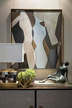 Living room decor and style ideas: Ready to start creating your own living room design and style? Discover living room tips and design inspiration from a variety of living rooms, such as color, decor and theme. Check the webpage to read more. Modern Interior Design, Contemporary Design, Modern Art, Sculpture Art, Sculptures, Wal Art, Living Room Decor, Living Rooms, Living Area