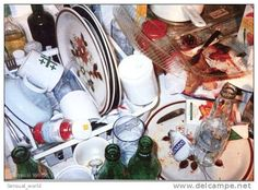 Kitchen Still Life Postcard / Wolfgang Tillmans Photographer