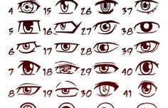 how to draw anime boy eyes | Image Collection