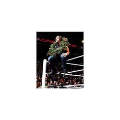 Dean Ambrose ❤ liked on Polyvore featuring dean ambrose and wwe