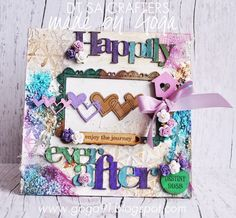New canvas for Sa Crafters called Happy Ever After