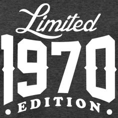Born In 1970 Limited Edition - Men's Premium T-Shirt
