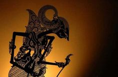 """Wayang Kulit by khatulistiwa.info. Wayang is an Indonesian word for theatre (literally """"shadow"""").  When the term is used to refer to kinds of puppet theatre, sometimes the puppet itself is referred to as wayang. Performances of shadow puppet theatre are accompanied by gamelan in Java, and by """"gender wayang"""" in Bali."""