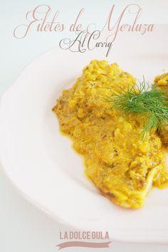© La Dolce Gula Filetes De Merluza Al Curry©