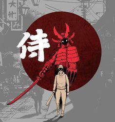 Street Samurai on Behance