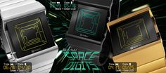 Kisai Space Digits LCD watch
