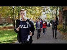 Ahead of today's big Harvard-Yale football game, the Cambridge kids ventured south to New Haven to offer free (fake and very biased) tours of the Yale campus. Harvard Tour, Harvard Yale, Harvard Students, Museum Studies, College Search, Video Game Music, Research Methods, College Admission, Education System