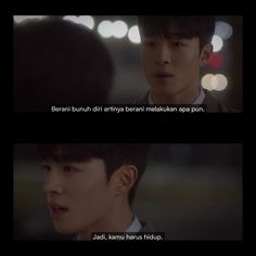 Korea Quotes, Quotes Drama Korea, Korean Drama Quotes, Quotes From Novels, Film Quotes, Funny Insults, Funny Kpop Memes, Quotes Indonesia, Tumblr Quotes