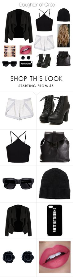 """""""Daughter of Circe"""" by kitty3136 ❤ liked on Polyvore featuring Thakoon Addition, Calle, Miss Selfridge, Chanel, Acne Studios, Monki and OPUS Fashion"""