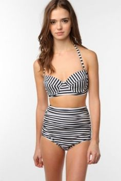 cute high-waist bikini