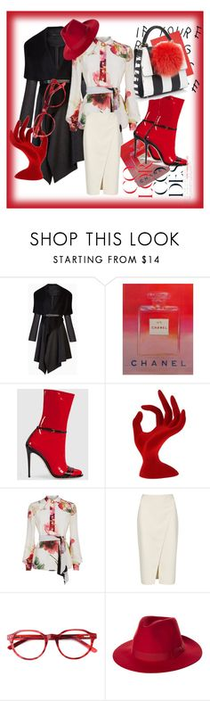 """""""Untitled #38"""" by nerma1278 ❤ liked on Polyvore featuring BCBGMAXAZRIA, Andy Warhol, Gucci, Lanvin, Acne Studios, Brixton and Les Petits Joueurs"""
