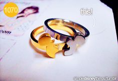 Mickey Mouse puzzle ring!