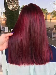 Red Wigs Lace Frontal Wigs Blonde Highlights On Ginger Hair Dark Purple Cosplay Wig Redheads Near Me Navy Blue Frontal Wig Blonde And Red Hair Color Hair Color Shades, Red Hair Color, Red Colored Hair, Burgundy Red Hair, Color Red, Straight Hairstyles, Cool Hairstyles, Long Hairstyle, Red Hair Trends