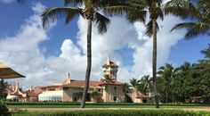 "Sinkhole forms in front of Mar-a-Lago; metaphors pour in    ""Is it the swamp draining?"" and other jokes flooded the Internet."