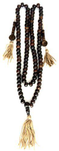 Weitere Sammelgebiete Traditional Brown108 Beads Meditation Indian Sandalwood Japa Mala Spiritual
