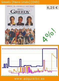 Greedy [Reino Unido] [DVD] (DVD). Baja 66%! Precio actual 6,25 €, el precio anterior fue de 18,22 €. https://www.adquisitio.es/uca/greedy-reino-unido-dvd