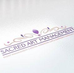 #flamingcherry #fcd #designer #branddesign #brand #logodesign #logo #sacredartmanagement #sam #carelia #careliakuhn Branding Design, Logo Design, Sacred Art, Event Management, Design Projects, Digital Marketing, Cherry, Instagram Posts, Prunus