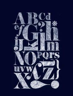 Wij zijn gek op letters, typografie en onze happy pages!