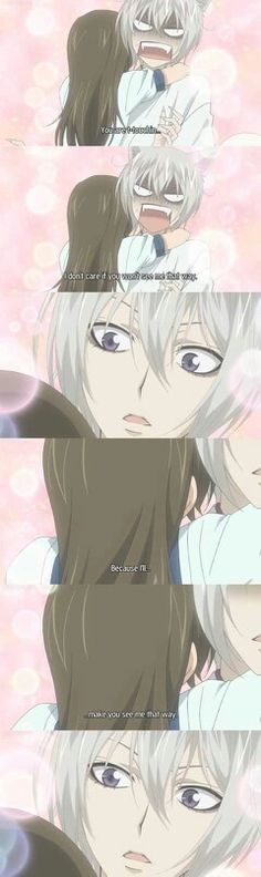 Tomoe and Nanami; jeez the cuteness and complete wonderfulness of this is just....TOO MUCH MY HEART GOSH