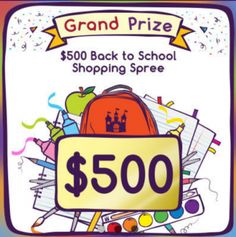 Fairy Tales Back to School Sweepstakes