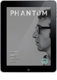 Phantom ePublication by Sean Phelps, via Behance
