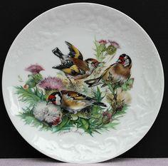 Rosenthal Wandteller   Singvögel unserer Heimat   !!!   Distelfinken   !!!
