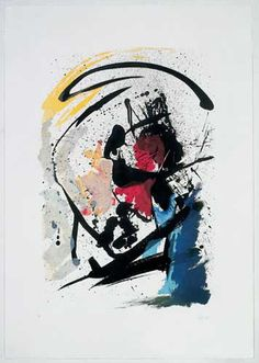 Jean Miotte is a French abstract painter, in the style known as L'Art Informel. His work is preserved and studied at the Miotte Foundation, which occupies the third floor of the Chelsea Art Museum in Manhattan, New York. Abstract Painters, Abstract Watercolor, Modern Art, Contemporary Art, Abstract Art Images, Art Informel, Zen Art, Oeuvre D'art, Abstract Expressionism