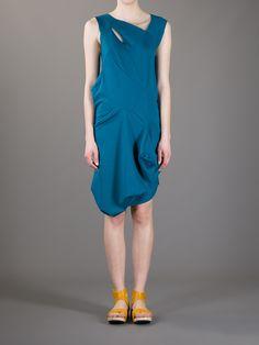 DEUX DANS UMI - MILANO  asymmetric jersey dress