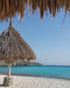 O mar absurdamente lindo de Curaçao passando pela sua timeline    [English] Blue or green or blue + green: what is the wonderful color of Curaçao water for you?