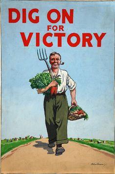 When gardening was patriotic!