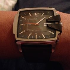 Diesel Date Leather Strap