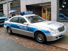 Mercedes Police Vehicle