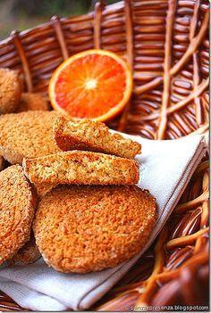 Panza & Presenza: I biscottoni all'arancia con farina integrale di g...