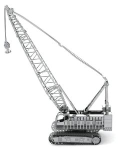 Earth 3d, Metal Earth, Metal Model Kits, Metal Models, Crawler Crane, 3d Puzzles