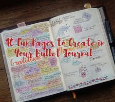 10 Fun Pages to Create in Your Bullet Journal