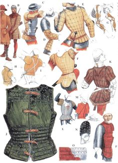 Gambeson, jackets and brigantine