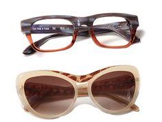 Lunettes Pierre Eyewear - Modèles : Eric et Tara
