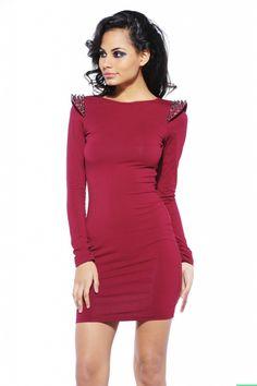 Studded Marley Dress $46 shopmodmint.com