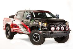 Check out the new Toyota trucks and SUVs that will be competing in the Baja 1000! Toyota revealed these new Toyota at this year's SEMA Motor Show!
