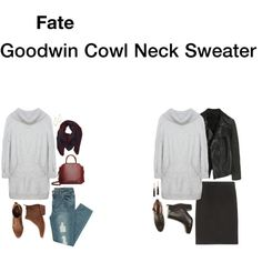 fate goodwin cowl neck. oooo, now this one is good - long, pockets, and cowl. wonder what other colors it is in