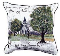 How Great Thou Art Inspirational Decorative Tapestry Pillow