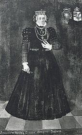 Kunhuta ze Šternberka, manželka českého krále Jiřího z Poděbrad a Kunštátu