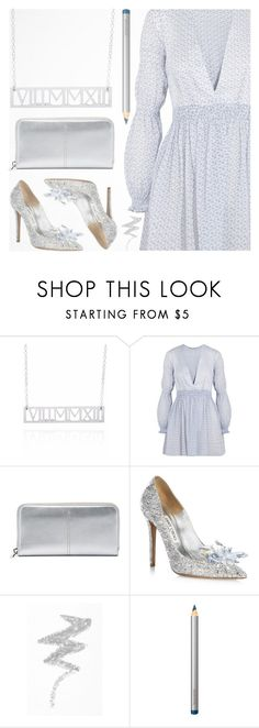 """""""Roman Numeral Necklace (set 15)"""" by deepwinter ❤ liked on Polyvore featuring Emilia Wickstead, Tod's, Jimmy Choo, NYX, Laura Mercier, men's fashion, menswear and sincerelysilver"""