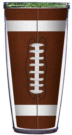 Sport (Football and Baseball) Tumbler -- Customize with your monogram or name! by GoneGreek on Etsy