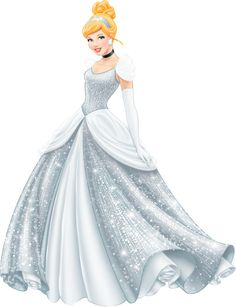 Disney Princess Sparkle CINDERELLA (1950) ~ re-colored to match original dress