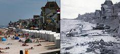 Νορμανδία: Οι παραλίες όπου το 1944 αποβιβάστηκαν οι σύμμαχοι, σήμερα είναι δημοφιλή θέρετρα [Εικόνες]