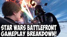 Star Wars Battlefront Gameplay Breakdown!