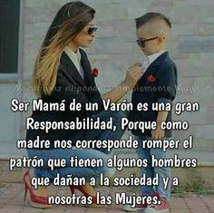 Mamá de un varón
